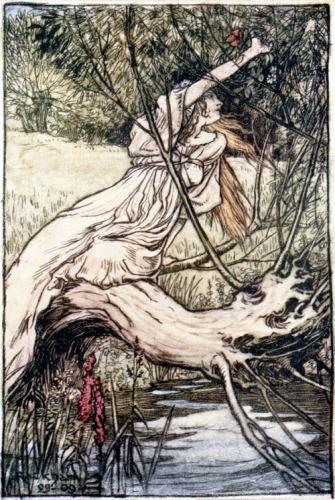 Ophelia by Arthur Rackham