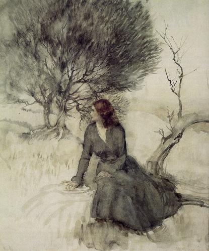 Painting by Arthur Rackham