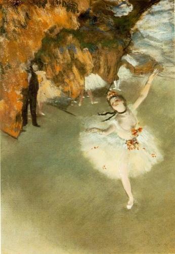 L'Etoile (La Danseuse Sur La Scene) by Edgar Degas