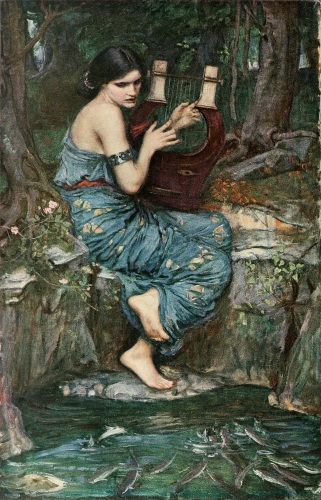 The Charmer by John William Waterhouse