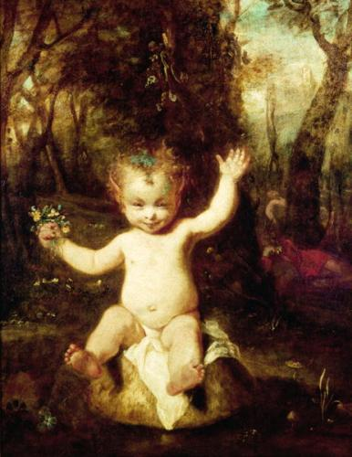 Puck by Sir Joshua Reynolds