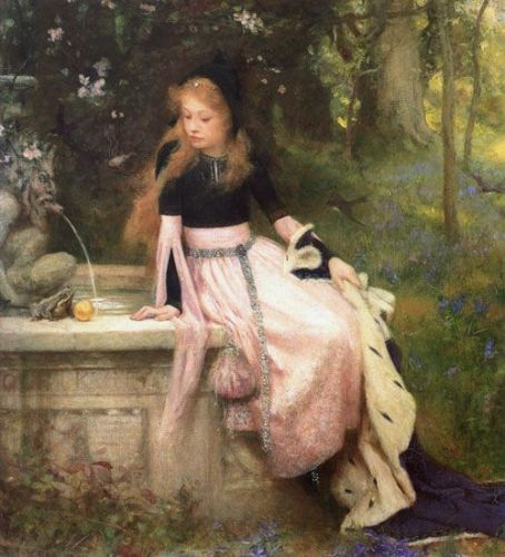 The Princess and the Frog by William Robert Symonds