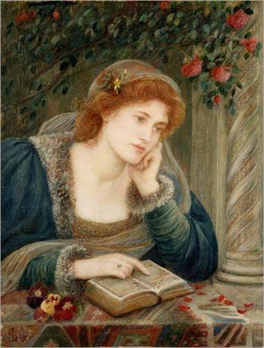 Beatrice by Marie Spartali Stillman