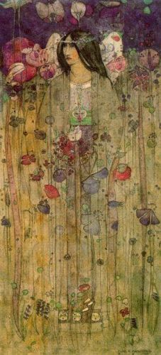 In Fairyland by Charles Rennie Mackintosh