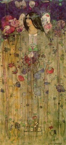 In Fairyland by Charles Rennie Mackintosh
