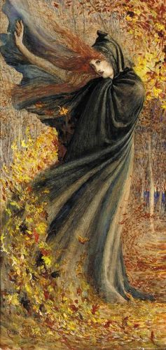 The West Wind by Walter Crane